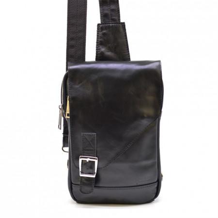 Кожаный рюкзак слнинг с одной шлейкой TARWA (TWGA006403-4lx)