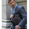 Мужская кожаная сумка Bostanten вертикальная А4 (bs0101brown)