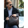 Мужская сумка из натуральной кожи Bostanten (bs0102brown)