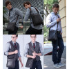 Кожаная мужская сумка на плечо Bostanten (bs0106brown)