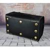 Кожаная мужская дорожная сумка черного цвета Модель (bsc0303black)